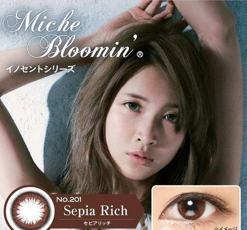 Miche Bloomin One Day Color Contact Lens 10pcs