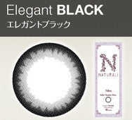 Naturali 1 Day Color Contact Lens Elegant Black 10pcs