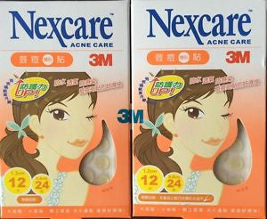 3M Nexcare Acne Care Dressing Pimple Stickers 2x36pcs