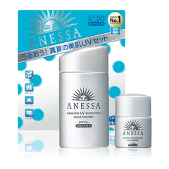 Shiseido Anessa Essence UV Sunscreen Aqua Booster SPF 50+ PA++++ Special Set 60+10ml