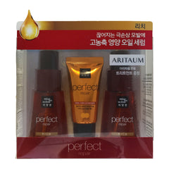 Amore Pacific Mise en scene Hair Perfect Repair Set - Oil 70mlx2+ Treatment30ml - Rich