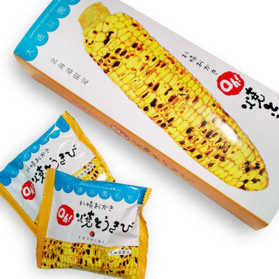 Yoshimi Sapporo Okaki Oh! Grilled Corn 18g X 6 Bags (Box slightly damaged)