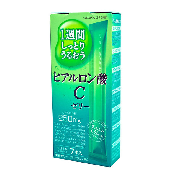 Otsuka Japan Beauty Collagen C Jelly- Apple 7 sticks