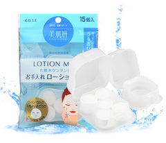 Kose Japan Bihada Goyomi Compressed Lotion Mask 15 pieces