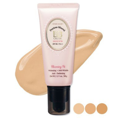Etude House Precious Mineral BB cream Blooming Fit SPF30/PA++ - N02 Light Beige