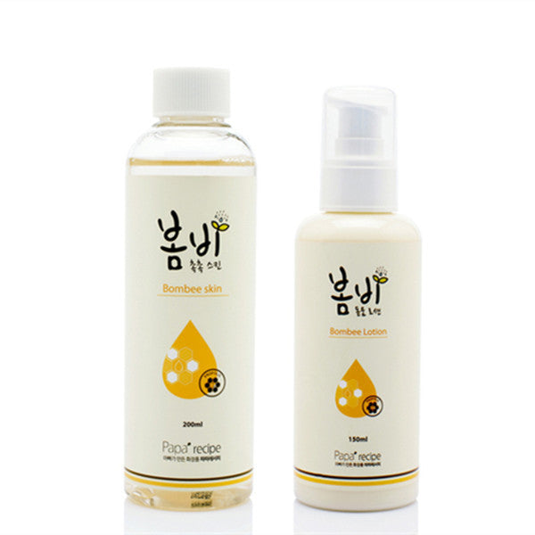 Papa Receipe Bombee Lotion& Toner Set