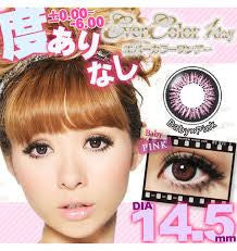 Ever Color 1 Day Contact Lenses 10pcs -Baby Pink