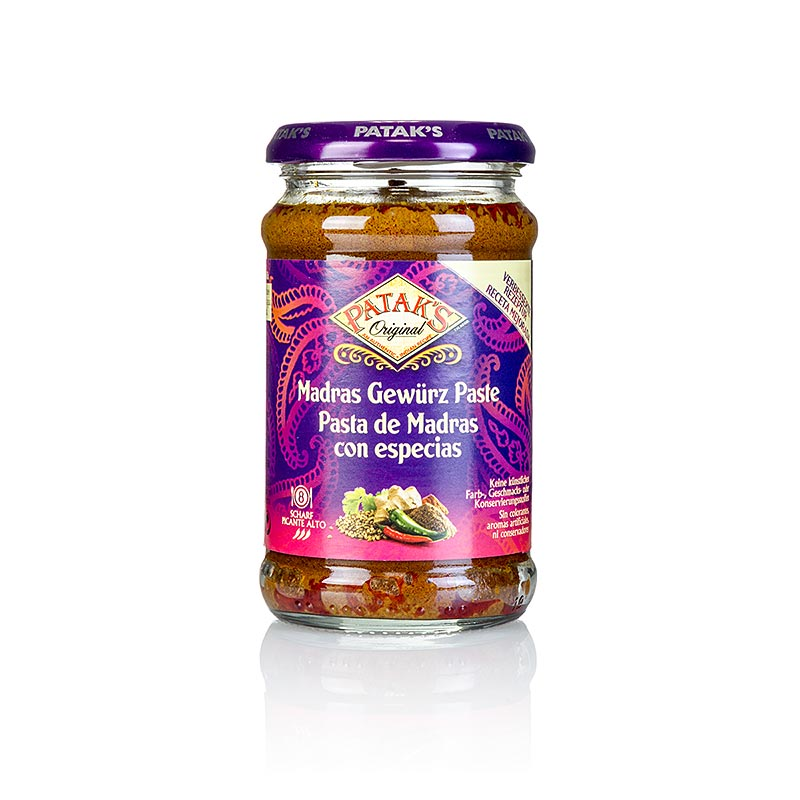 "Curry Paste ""Madras"", scharf, Patak´s 283 g"