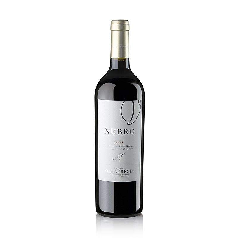 "2008er ""Nebro"", Tempranillo, Barrique, 14,5% vol., Villacreces, 94 Penin 750 ml"