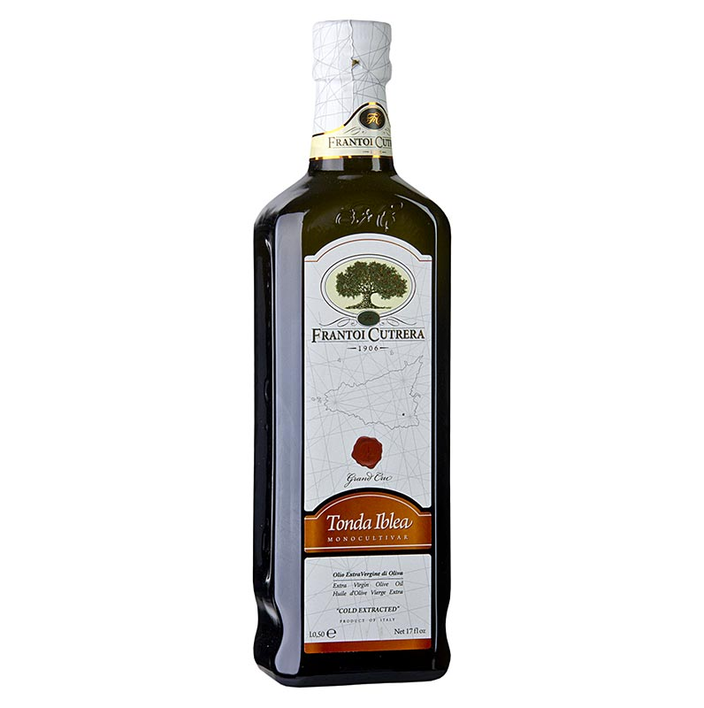 "Natives Olivenöl Extra, Frantoi Cutrera ""Grand Cru"", 100% Tonda Iblea 500 ml"