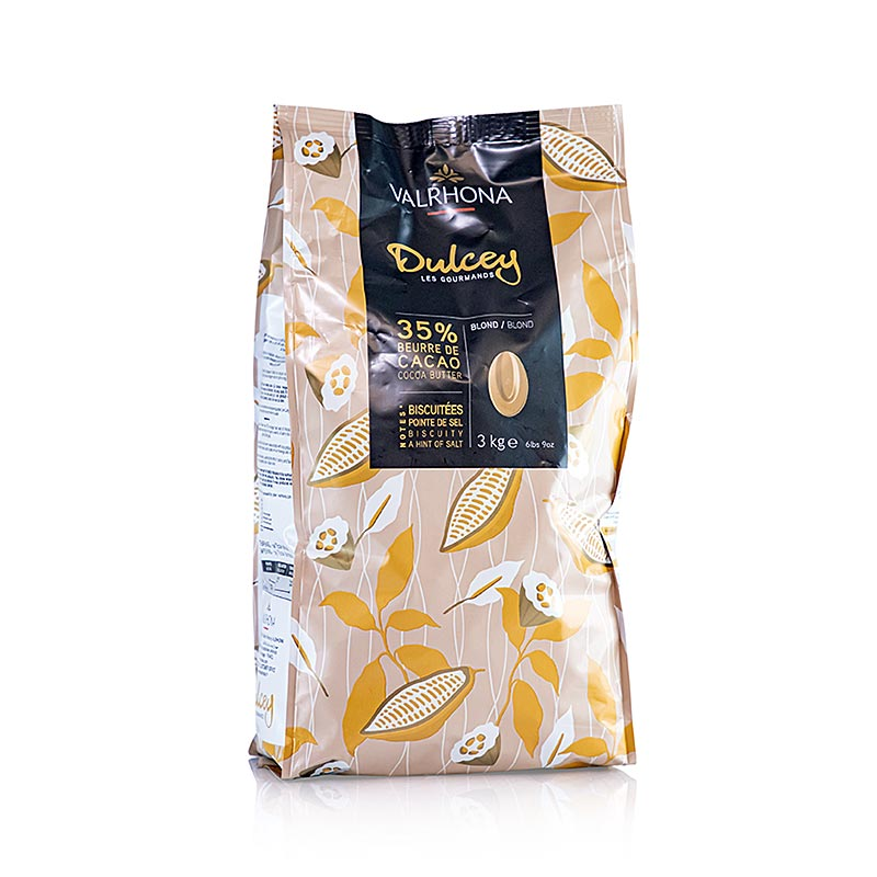 Dulcey, blonde Couverture, Callets, 32% Kakao 3 kg