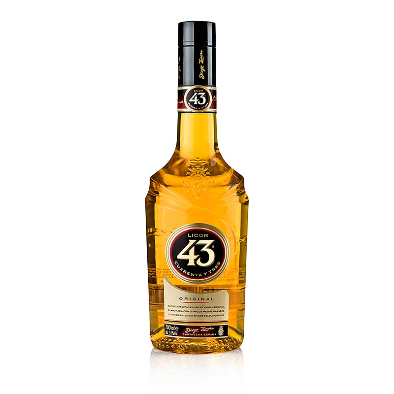 "Licor 43 ""Cuarenta y Tres"", Vanillelikör, 31% vol. 700 ml"