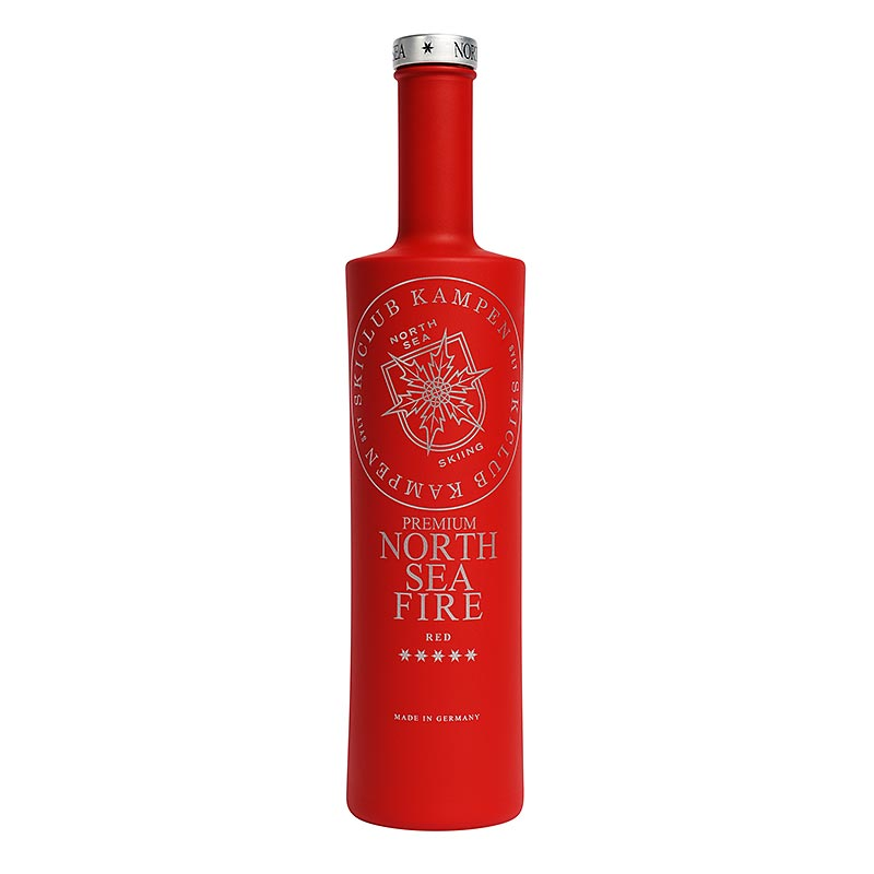 North Sea Fire, Likör mit Vodka und Orange, 15% vol., Skiclub Kampen 700 ml