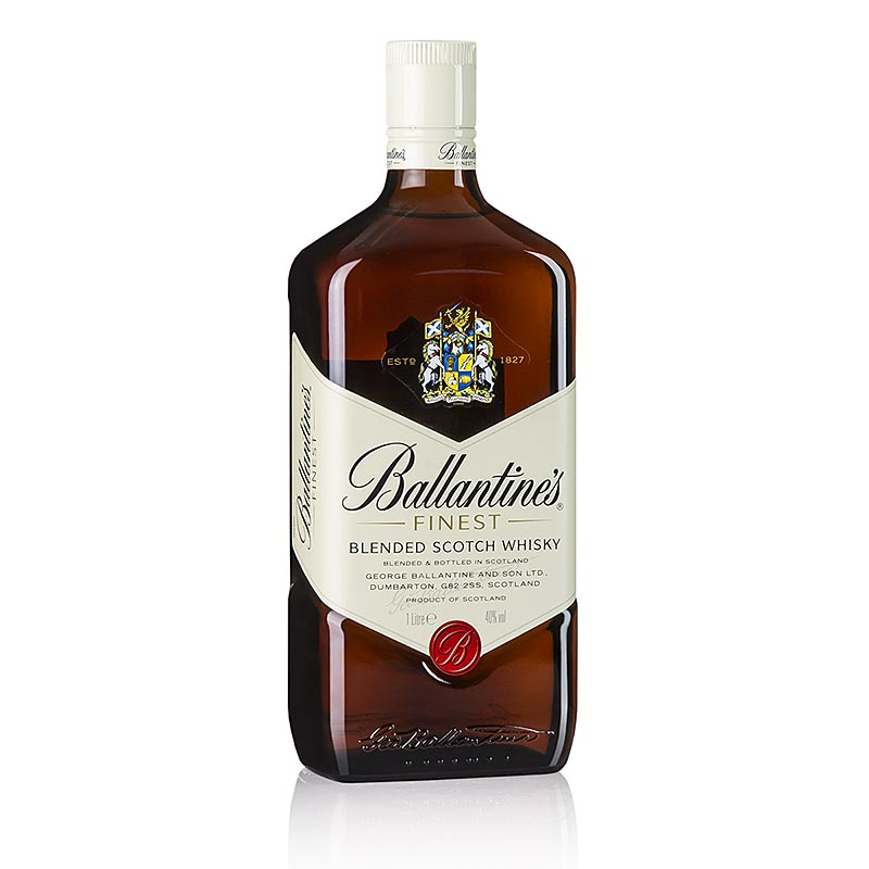 Blended Whisky Ballantines, 40% vol., Schottland 1 l