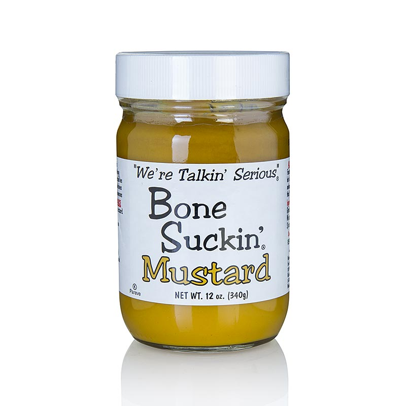 Bone Suckin´ Mustard Regular (mild), BBQ Senf, Ford´s Food 354 ml