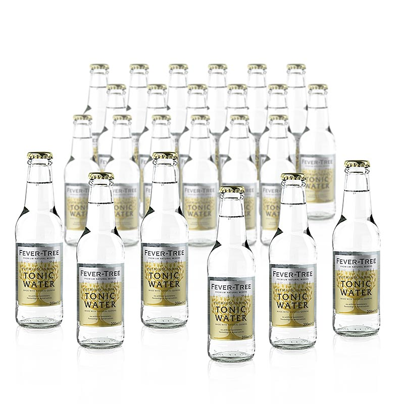 Fever Tree - Indian Tonic Water 4,8 l, 24 x 200ml