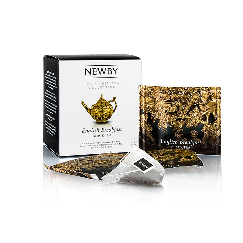Newby Tea English Breakfast, schwarzer Tee 37,5 g, 15 St