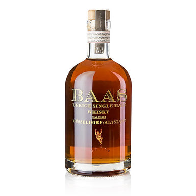 Single Malt Whisky Uerige Baas, 5 Jahre, White Port Fass, 45,5% vol., Düsseldorf 500 ml