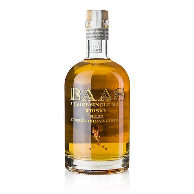 Single Malt Whisky Uerige Baas, 7 Jahre, Sherry Fass, 48,2% vol., Düsseldorf 500 ml