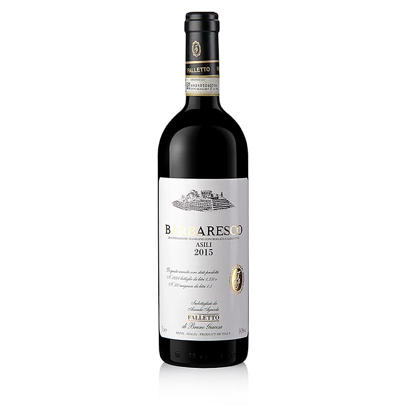 2015er Barbaresco Asili, trocken, 14,5% vol., Bruno Giacosa 750 ml