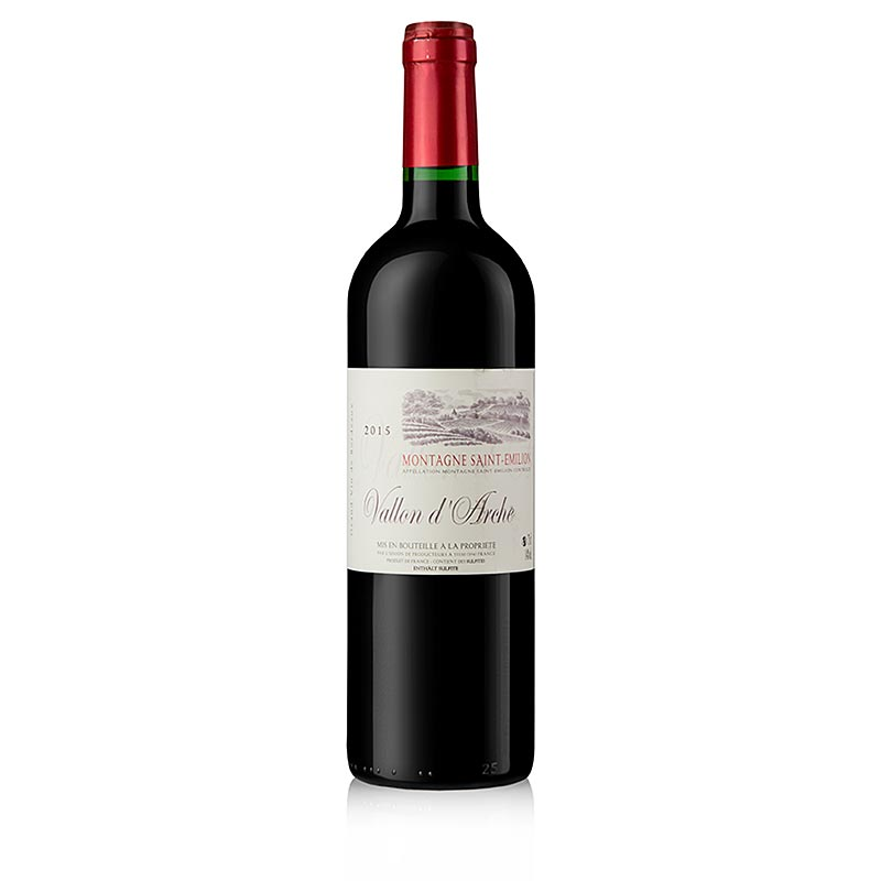 2015er Chateau Vallon d´Arche, trocken, St. Emilion, 14% vol. 750 ml