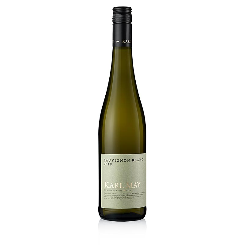 2018er Sauvignon Blanc, trocken, 11,5% vol., Karl May, BIO 750 ml