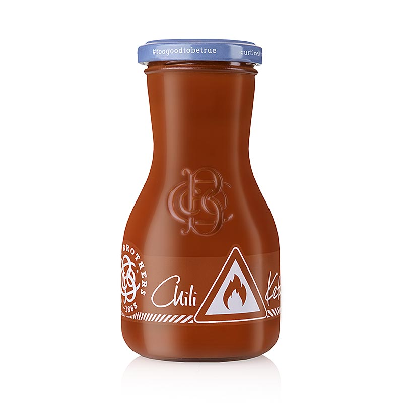 Organic Chili Ketchup, Curtice Brothers, BIO 270 ml