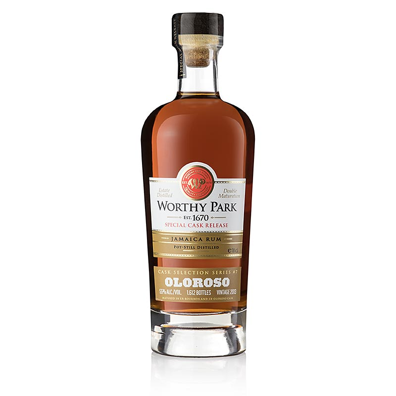 Worthy Park Estate Jamaica Rum 2013er Oloroso Special Cask, 55% vol. 700 ml