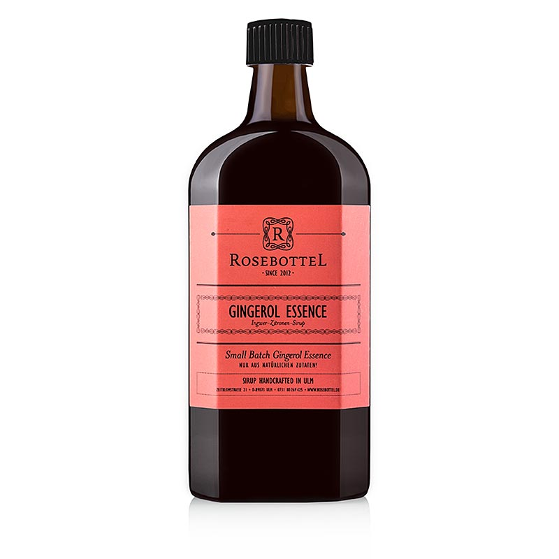 Rosebottel Gingerol Essence (Essenz) Sirup 500 ml