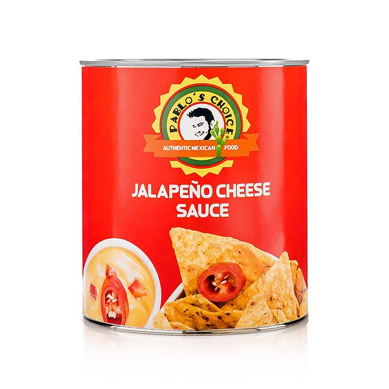 Jalapeno Cheese Sauce, Pablos Choice 3 kg