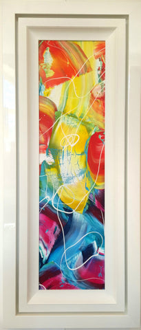 "Original Painting by Martin Bush ""Summer Breeze 1"" Window Series"