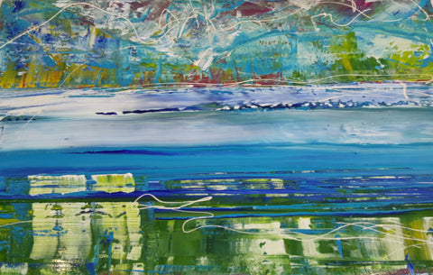 Soft Waters - 30% 0FF - 90cm x 60cm