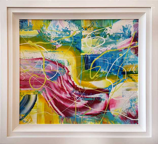 C. Beach Fizz  Original Painting 91cm 71cm in this frame