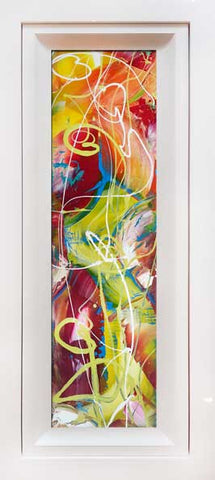"Window Series  Original Painting by Martin Bush ""Fruity Tonic 3"""