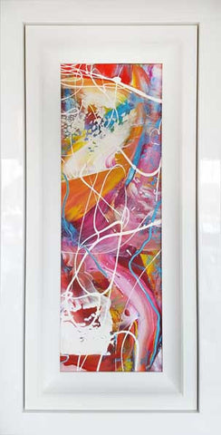 Window Series Pink Pash Original Painting by Martin Bush