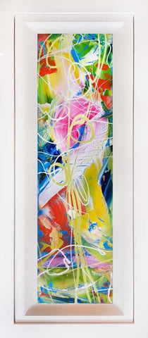 "Window Series ""Tooty Fruity "" Original Painting by Martin Bush"