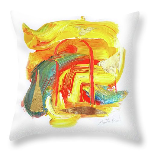 Gho-ghi Chicken - Throw Pillow