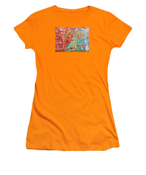 Gho-ghi - Jewel Golden - Women's T-Shirt (Athletic Fit)