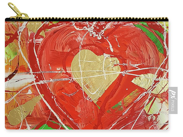 Jewel Heart - Carry-All Pouch
