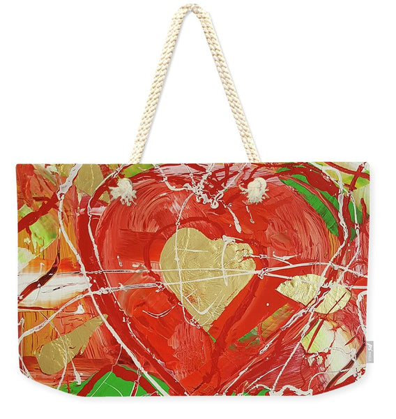Jewel Heart - Weekender Tote Bag