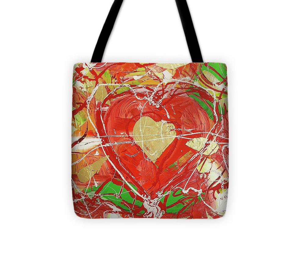Jewel Heart - Tote Bag