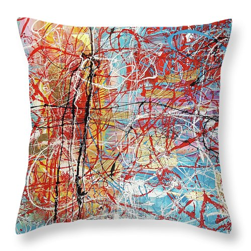 Temple By The Ocean - Throw Pillow