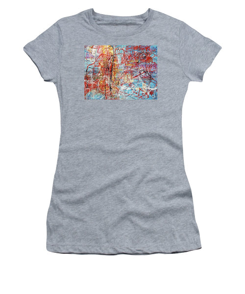 Temple By The Ocean - Women's T-Shirt (Athletic Fit)