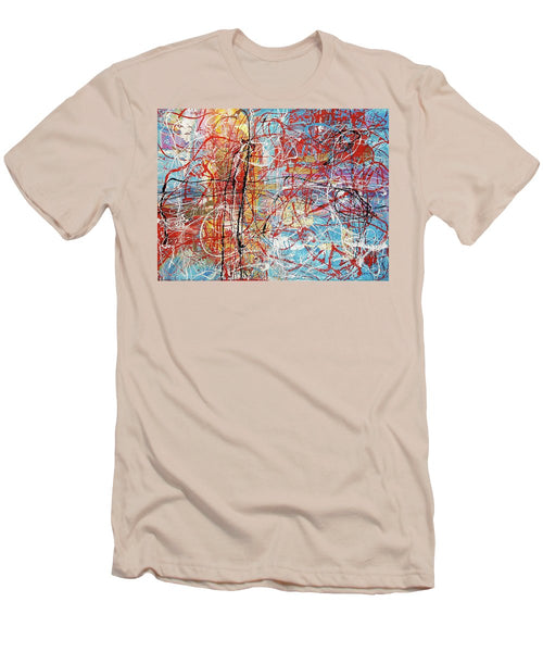 Temple By The Ocean - Men's T-Shirt (Athletic Fit)