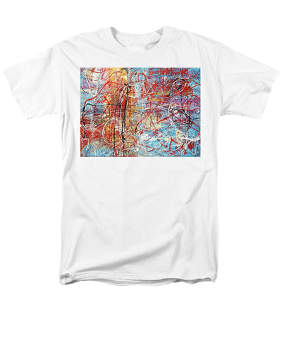 Temple By The Ocean - Men's T-Shirt  (Regular Fit)