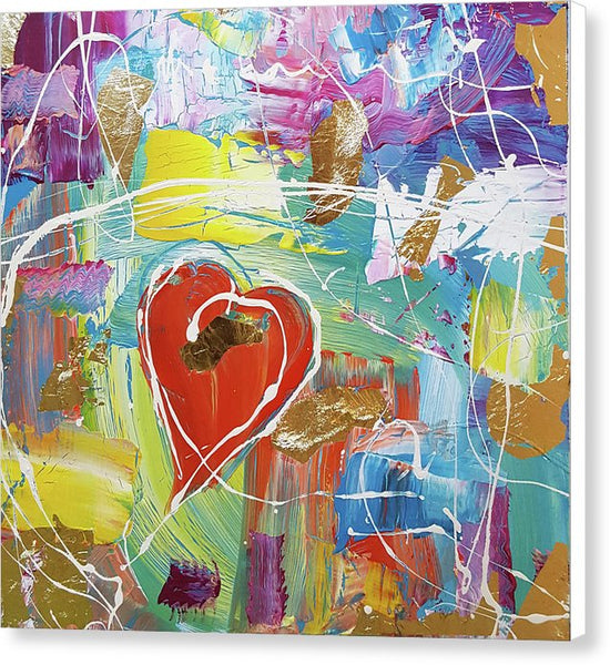 Temple Heart - Canvas Print