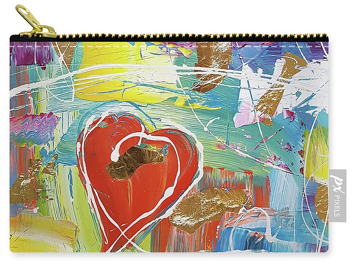 Temple Heart - Carry-All Pouch