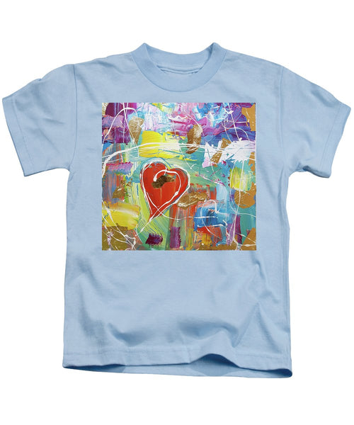 Temple Heart - Kids T-Shirt