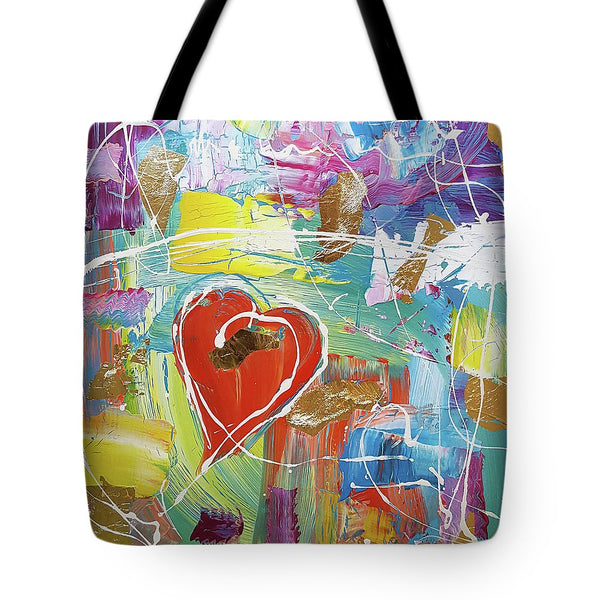 Temple Heart - Tote Bag