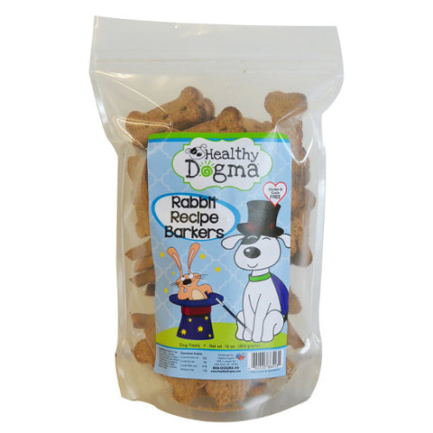 Healthy Dogma Rabbit Barkers Dog Treats